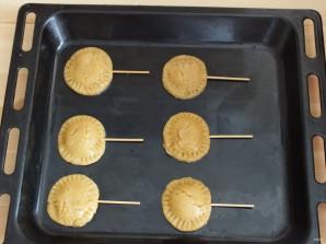Печенье на палочке - фото шаг 11