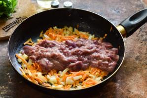 Болгарский перец фаршированный куриной печенью - фото шаг 4