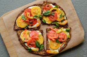 Сыроедческая пицца - фото шаг 7