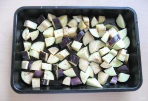 Салат из баклажанов с луком и морковью на зиму - фото шаг 3