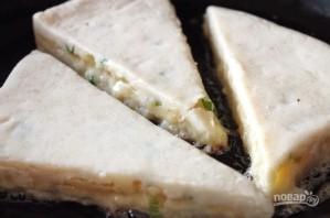 Картофельные уголки с сыром и зеленым луком - фото шаг 9