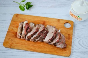 Горячий бутерброд со свининой - фото шаг 6