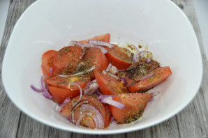 Ялтинский салат - фото шаг 6