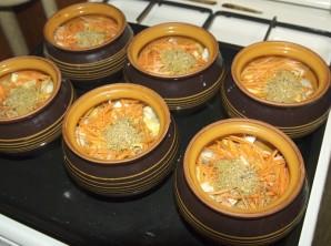 Чанахи из баранины в горшочках - фото шаг 3