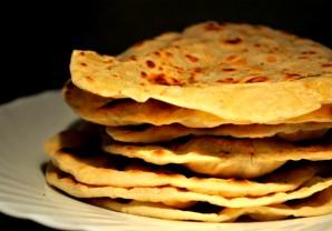 Индийские лепешки чапати - фото шаг 4