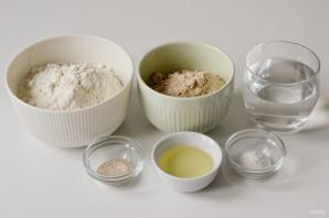 Гречневый хлеб в духовке - фото шаг 1
