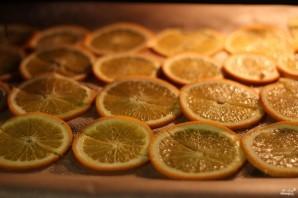 Апельсиновые чипсы - фото шаг 2