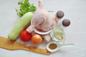 Чахохбили из курицы с кабачками - фото шаг 1