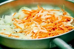 Грибной суп с домашней лапшой - фото шаг 8