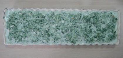 Слоеный киш со шпинатом - фото шаг 3