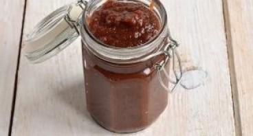 Шоколадное яблочное пюре на зиму - фото шаг 7