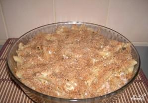 Макароны со свининой в духовке - фото шаг 13
