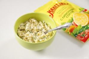"""Закуска """"Сырные шарики"""" с кунжутом и оливками - фото шаг 6"""