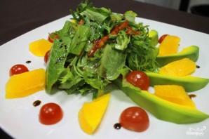 Салат с авокадо и апельсинами - фото шаг 7