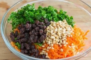 Салат из моркови и изюма - фото шаг 3