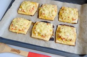 Горячие бутерброды из слоеного теста - фото шаг 9