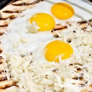 Пицца на гриле на завтрак - фото шаг 4