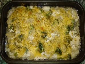 Курица с брокколи и цветной капустой - фото шаг 7