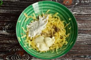 Мясо в картофельной шубке - фото шаг 5