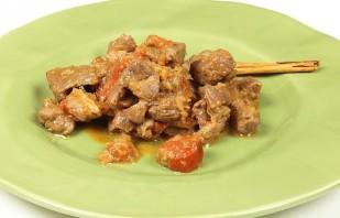Баранина в соевом соусе с помидорами - фото шаг 7