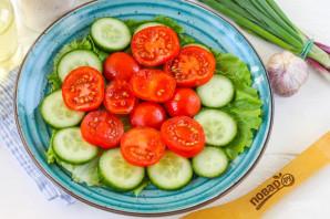 Грузинский салат - фото шаг 3