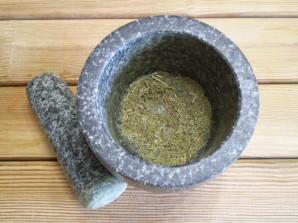 Адыгейская чесночная соль - фото шаг 3