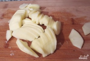 Салат из индейки с яблоками - фото шаг 4