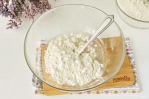 Тесто на манты без яиц - фото шаг 3
