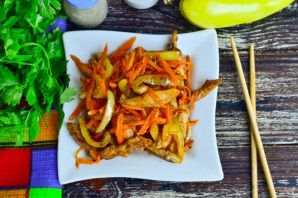 Салат с курицей по-китайски - фото шаг 8