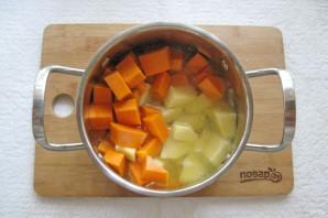 Тыквенный суп-пюре с мясом - фото шаг 5