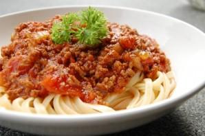 Фарш с перцем и помидорами - фото шаг 7