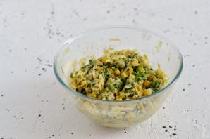Оладьи из кабачков с кукурузой - фото шаг 5