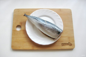 Суп из скумбрии с пшеном - фото шаг 2