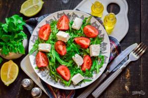 Салат с рукколой и брынзой - фото шаг 6