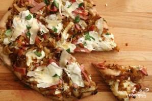 Пицца с карамелизованным луком и фенхелем - фото шаг 3