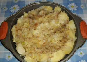 Картошка с кефиром - фото шаг 4