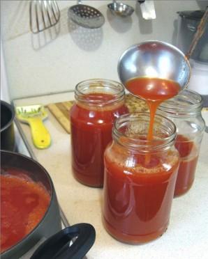 Сок из помидоров на зиму - фото шаг 5
