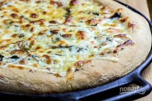 Сырная пицца с чесночным маслом - фото шаг 9
