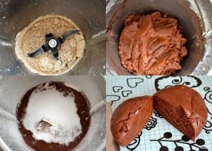 Шоколадный крамбл - фото шаг 1
