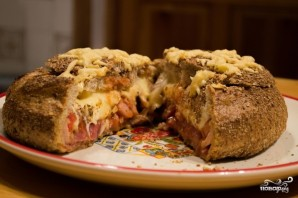 Пицца по-русски - фото шаг 6