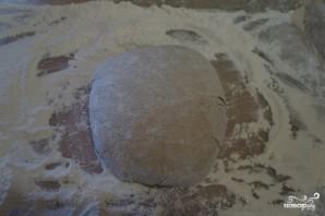 Домашний хлеб на закваске в духовке - фото шаг 4