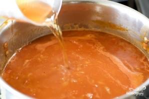 Суп с консервированными помидорами - фото шаг 5