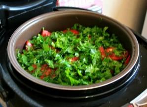 Грибы с овощами в мультиварке - фото шаг 10