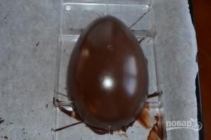 Пасхальное шоколадное яйцо (мастер-класс) - фото шаг 8