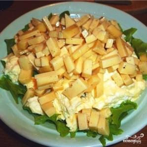 Салат с омлетом - фото шаг 7