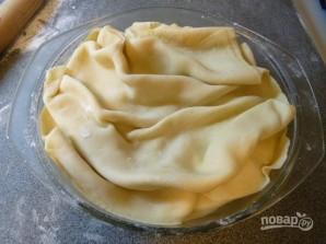 Греческий лук с мягким сыром - фото шаг 13