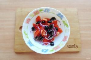 Критский салат - фото шаг 5