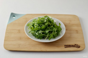 Салат с хурмой - фото шаг 3
