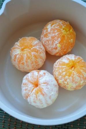Карамельные мандарины - фото шаг 2