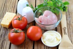 Фаршированные помидорки на закуску - фото шаг 1